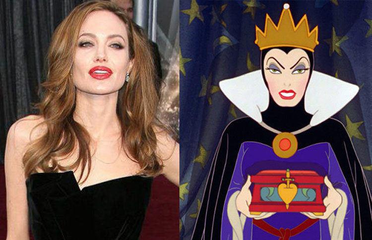 Angelina Jolie Evil Queen