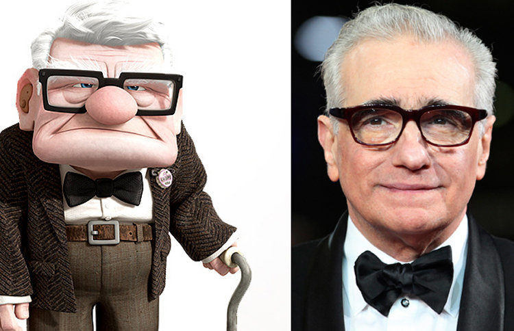 Martin Scorsese Up