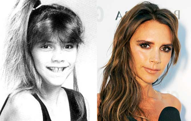 victoria beckham young old