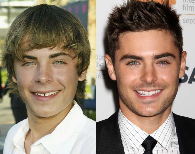 zac efron young old