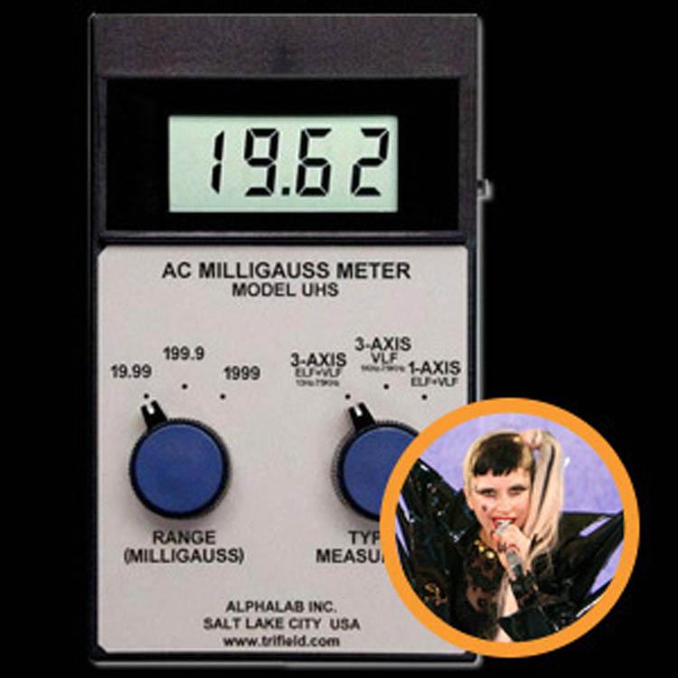 Lady Gaga Ghost Detector