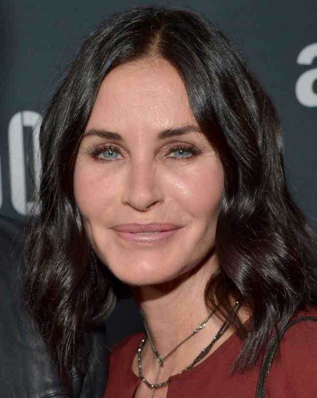Courtney Cox Hollywood Makeover