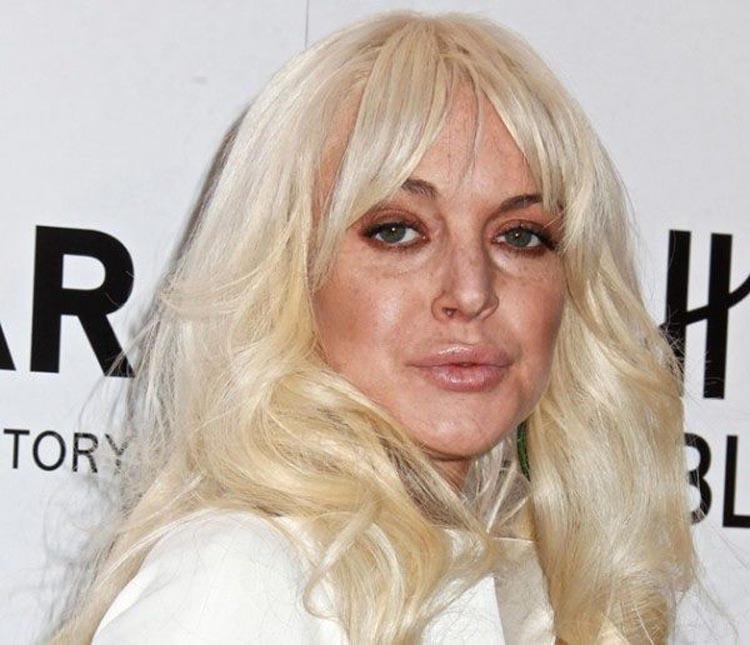 Lindsay Lohan Hollywood Makeover