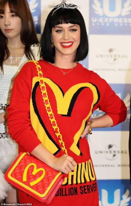 Katy Perry McDonald's Dress