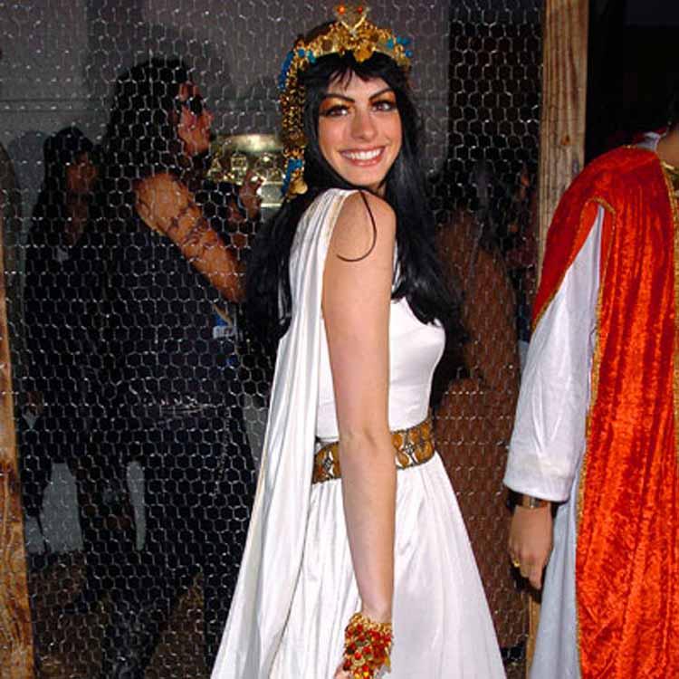 Anne Hathaway Fancy Dress Costume