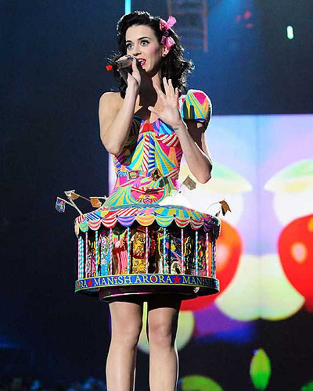 Katy Perry Carousel Dress