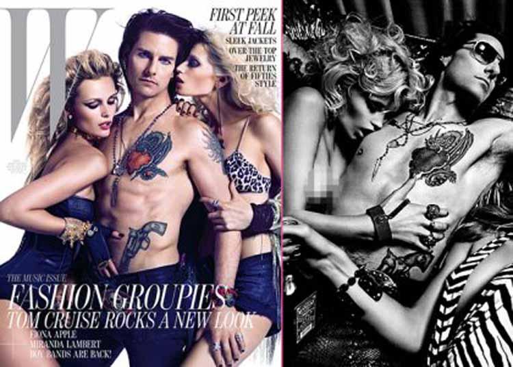 Tom Cruise W Magazine
