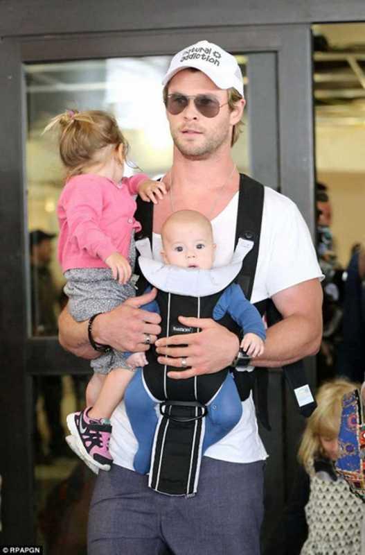 best celebrity dads