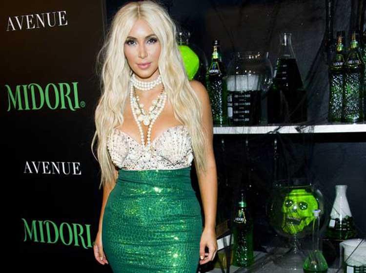 Kim Kardashian Fancy Dress Costume