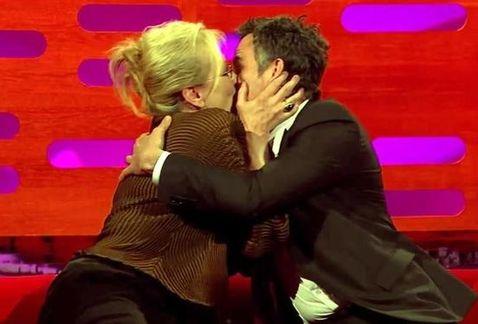 meryl streep kissed mark ruffalo