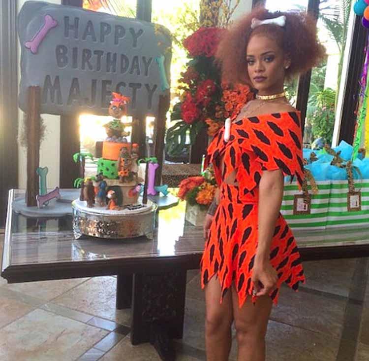 Rihanna Fancy Dress Costume